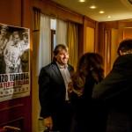 Ambrogio Crespi alla conferenza stampa del Docufilm