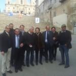 Ambrogio Crespi Andrea Mancia Francesca Scopelliti Giuseppe Arnone e Il Sindaco di Palma di Montechiaro