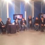Ambrogio Crespi Andrea Mancia e Francesca Scopelliti a TeleAcras 2