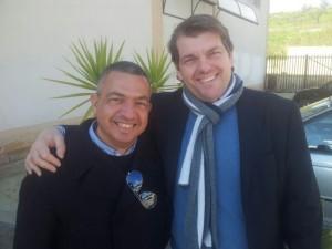 Ambrogio Crespi con Piero Crusca