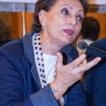 Francesca Scopelliti alla conferenza Stampa del Docufilm di Ambrogio Crespi