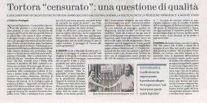 Il fatto quotidiano 1.11.2013